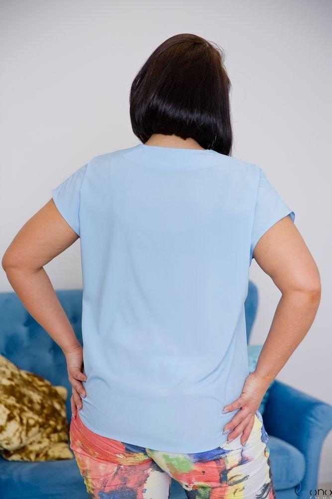 Blue Blouse COVER Plus Size