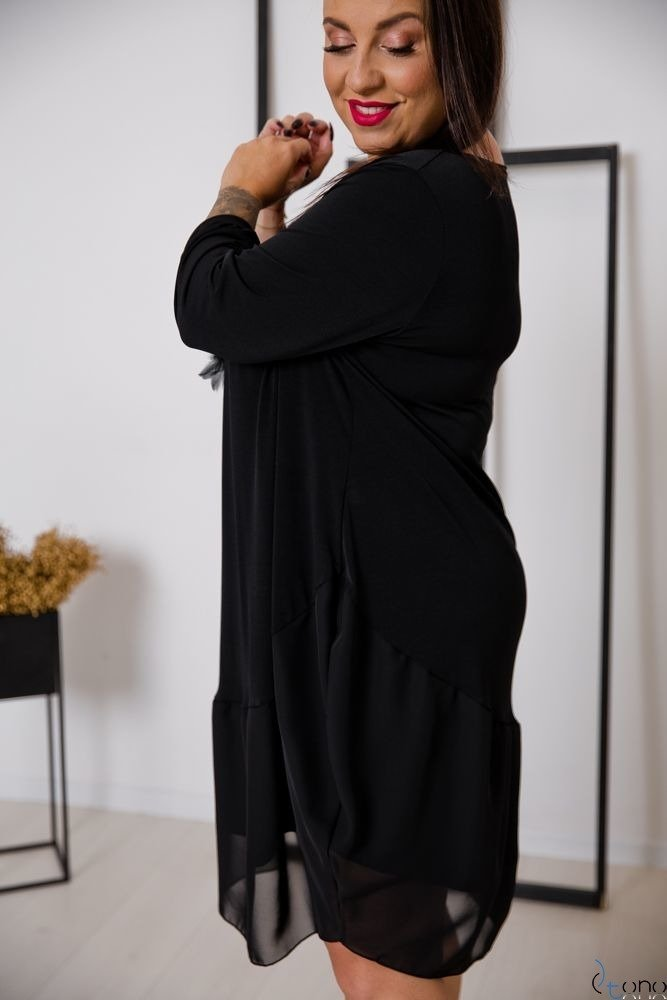 Black Dress APPRI Plus Size