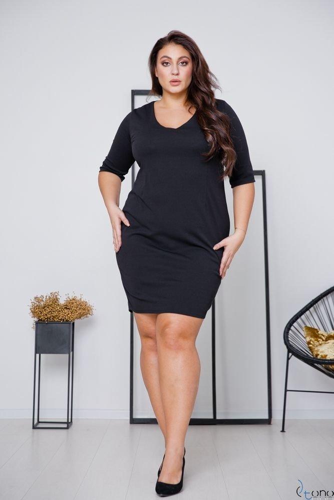Black Dress AZURRA Plus Size