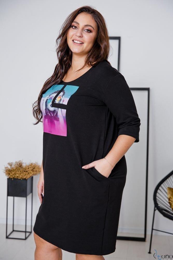 Black Dress ELIA Plus Size