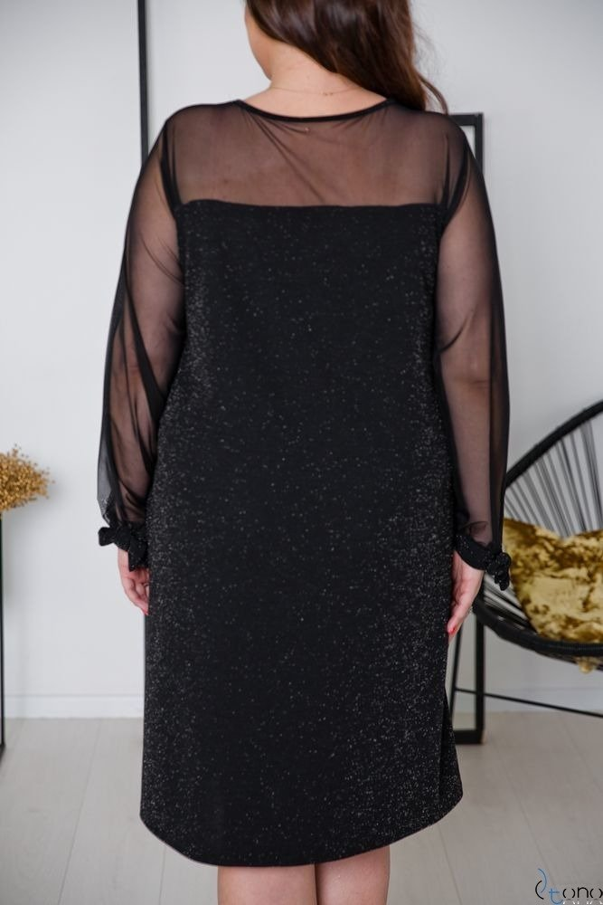 Black Dress LASHES Plus Size