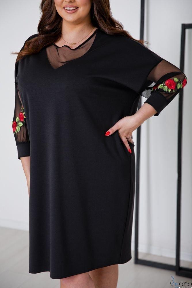 Black Dress MERRY Plus Size