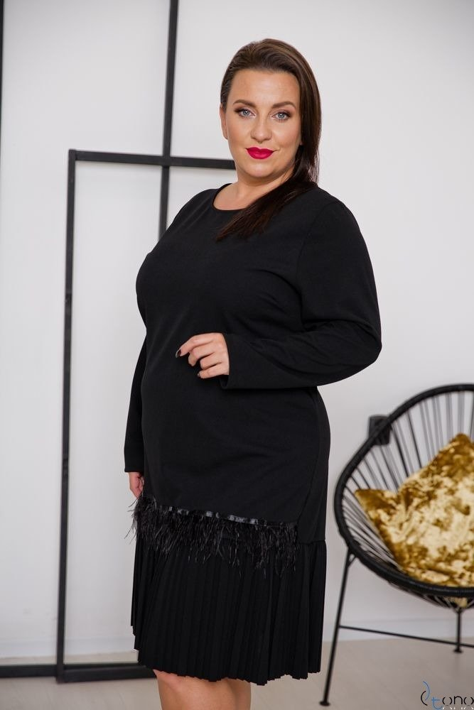Black Dress TUVIA Plus Size