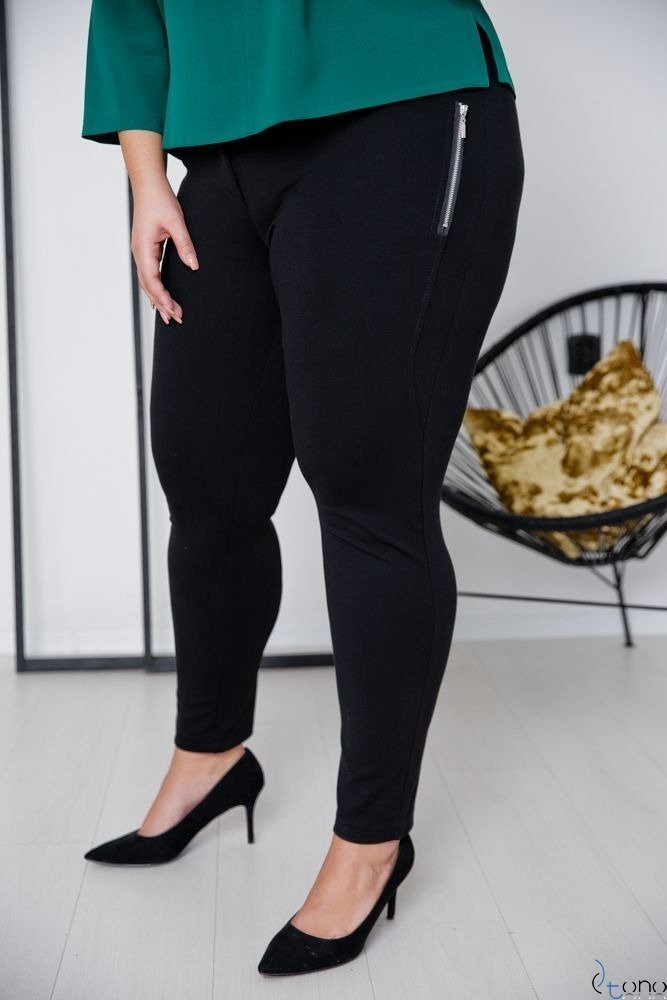 Black Trousers NUTREO Plus Size