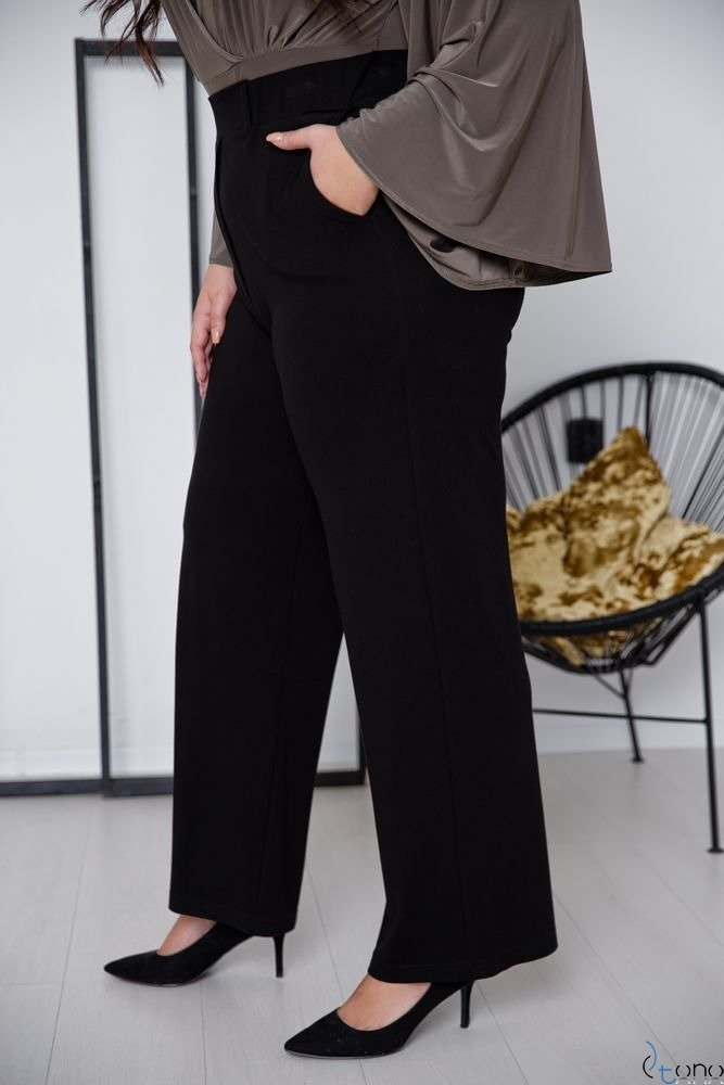 Black Trousers SOMFER Plus Size