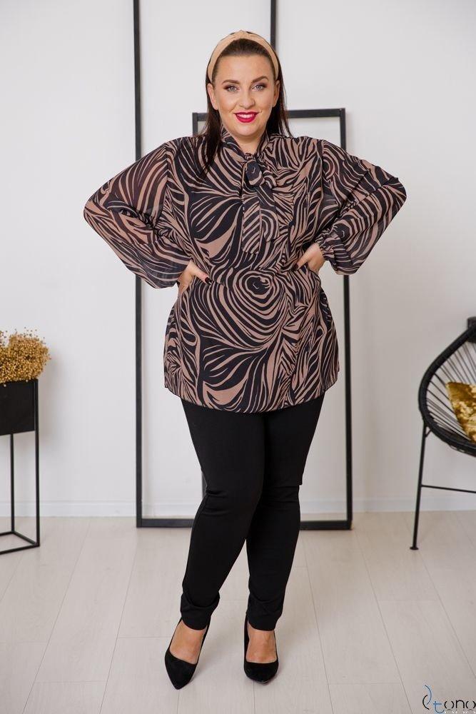 Blouse MAFERA Plus Size Design 1