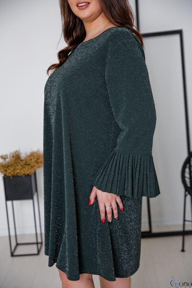 Green Dress NESIA Plus Size