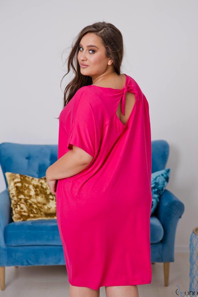Pink Dress ARCERIA Plus Size