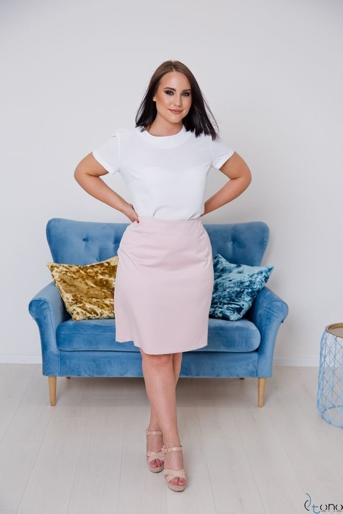 Pink Skirt DEBBY Plus Size