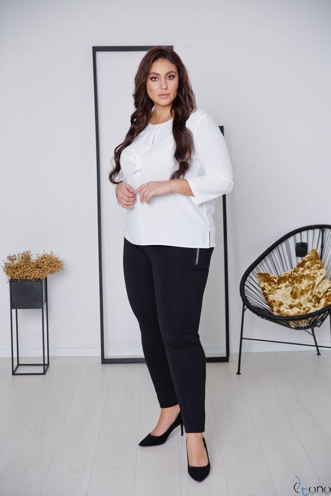 White Blouse VERTER Plus Size