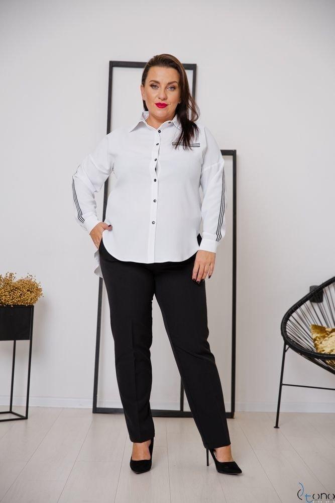 White Shirt ERINE Plus Size