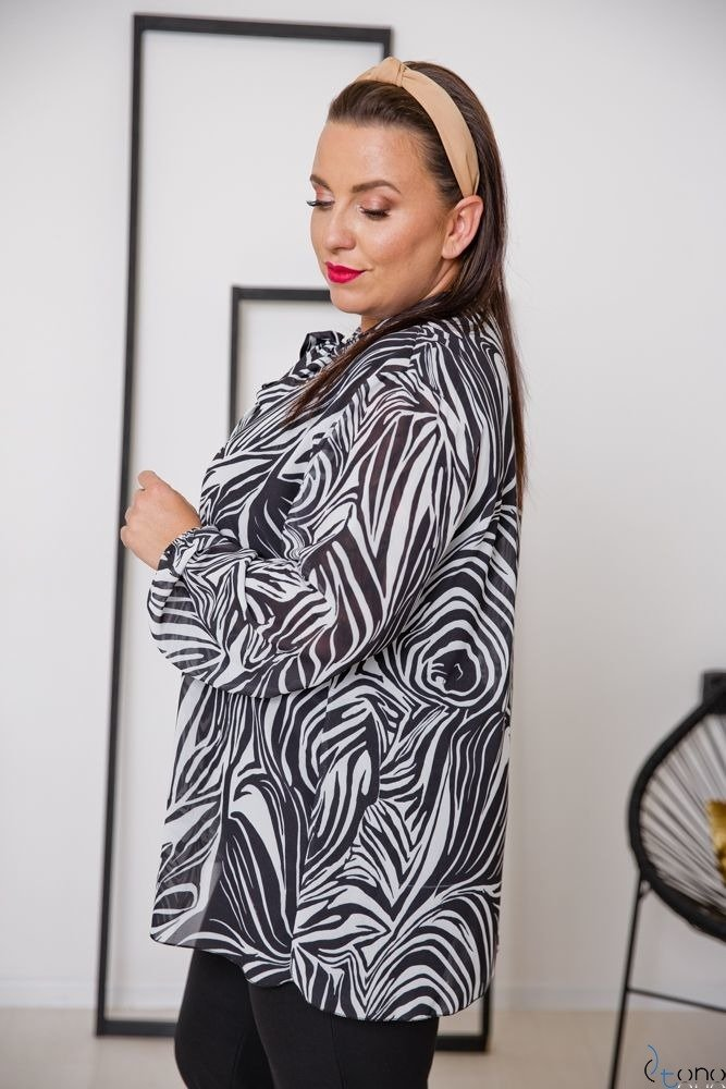 Blouse MAFERA Plus Size Design 2
