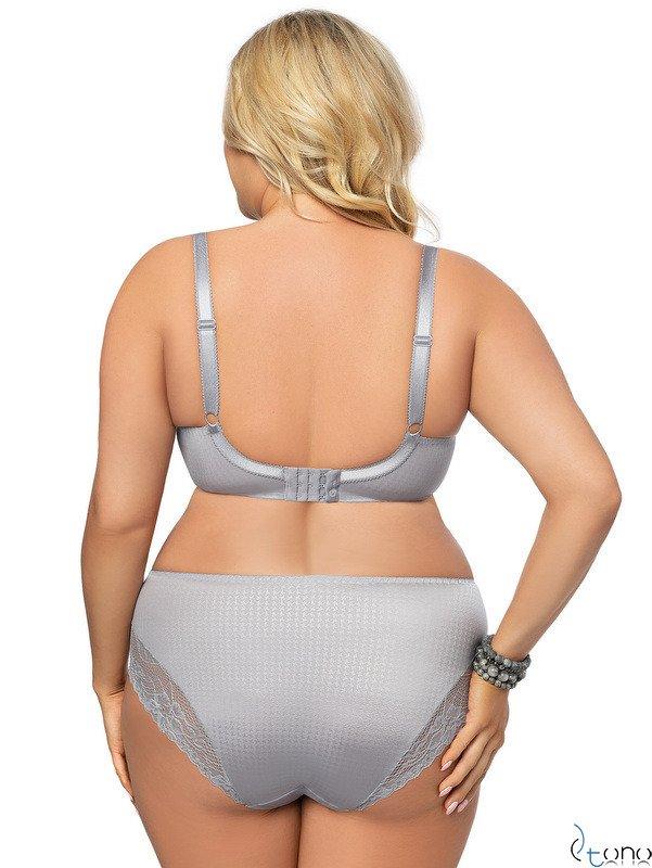 K463 soft bra BIG grey EDELWEISS