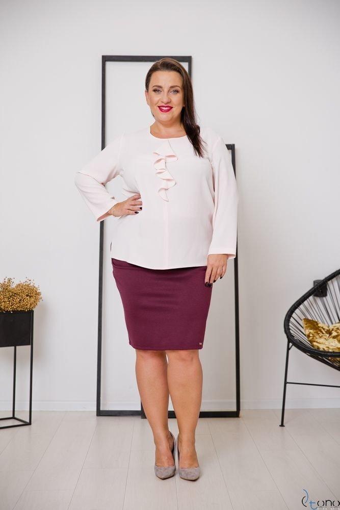 Pink Blouse VERTER Plus Size