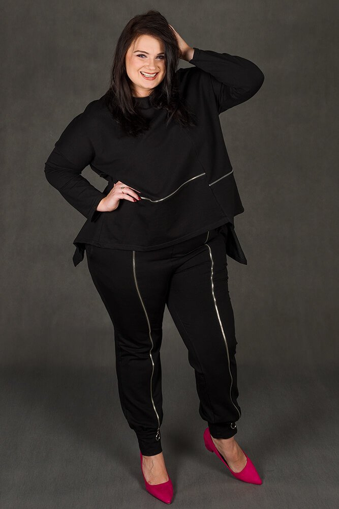 06030b62e9d75 Spodnie RUSTY Dresowe Designerskie Plus Size ✅ darmowy odbiór w ...