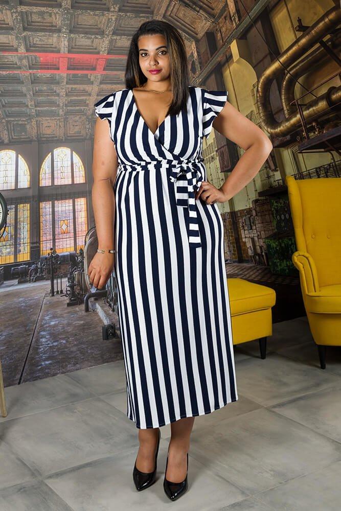 7b0bcc5afd Sukienka MALIKA Plus Size ✅ darmowy odbiór w punckie i zwrot produktu