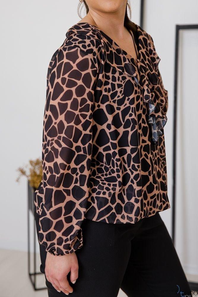 Bluzka FONDATA Plus Size Wzór 2