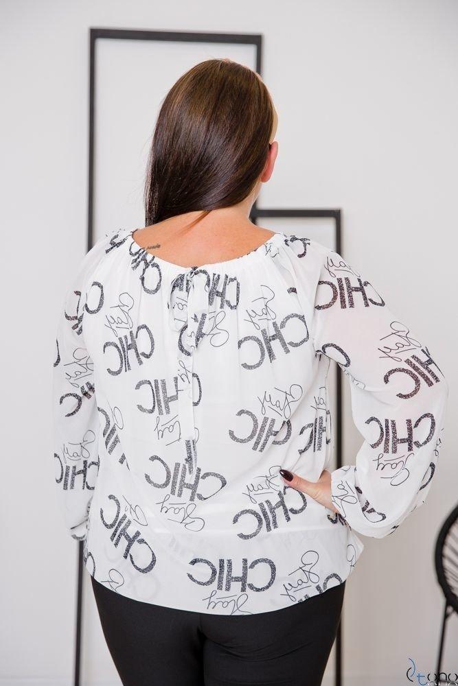 Bluzka GUARO Plus Size Wzór 4