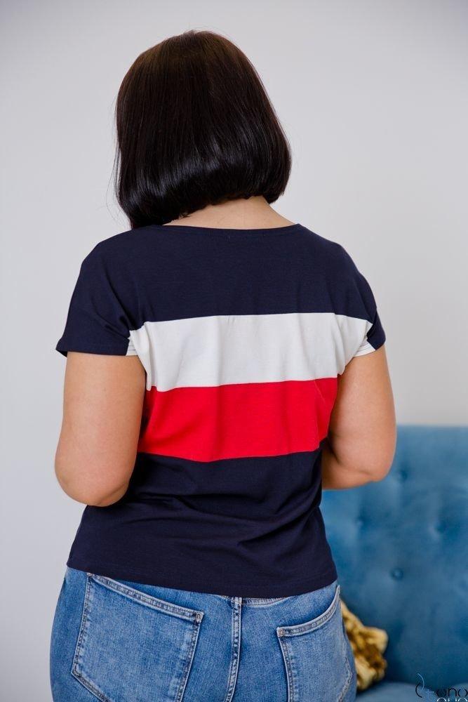 Bluzka TEKNA Plus Size Wzór 1