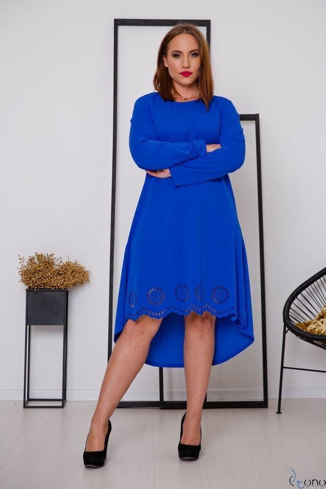 Chabrowa Sukienka FANTRINA Plus Size