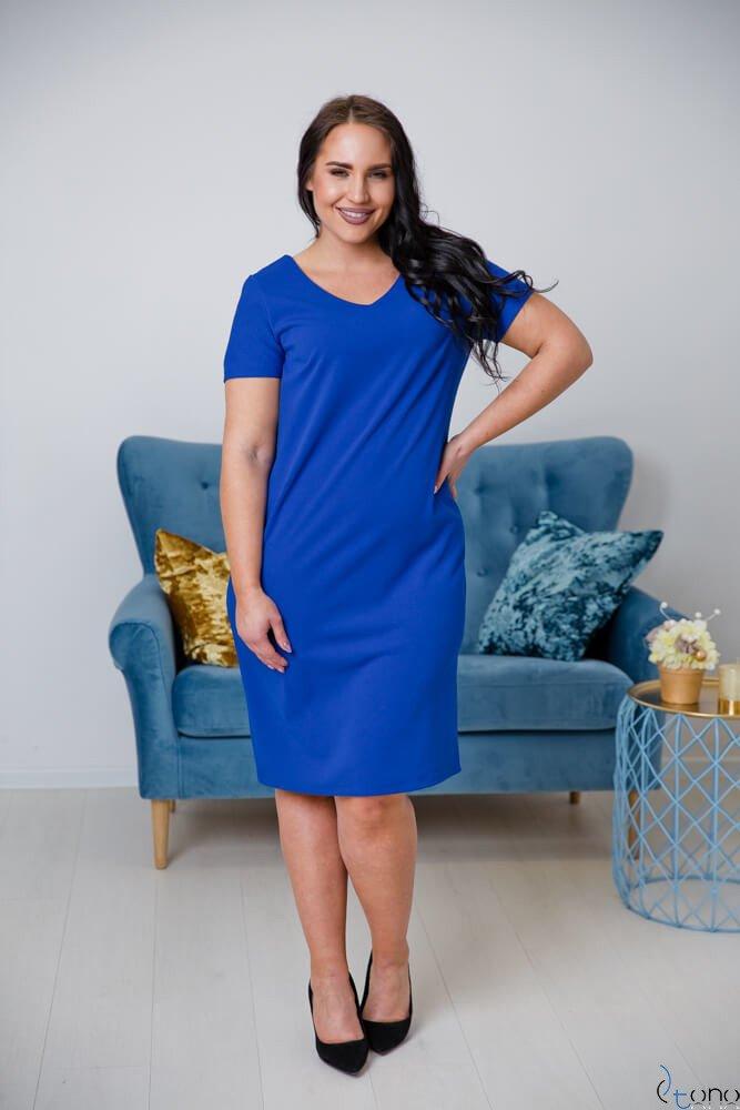 Chabrowa Sukienka MELIA Plus Size
