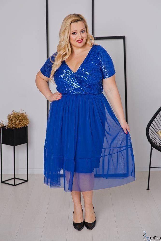 Chabrowa Sukienka VESTITA Plus Size