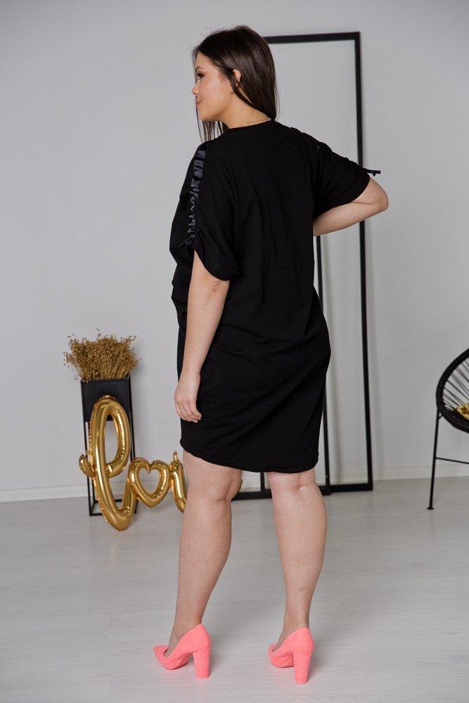Czarna Tunika MADENA Plus Size