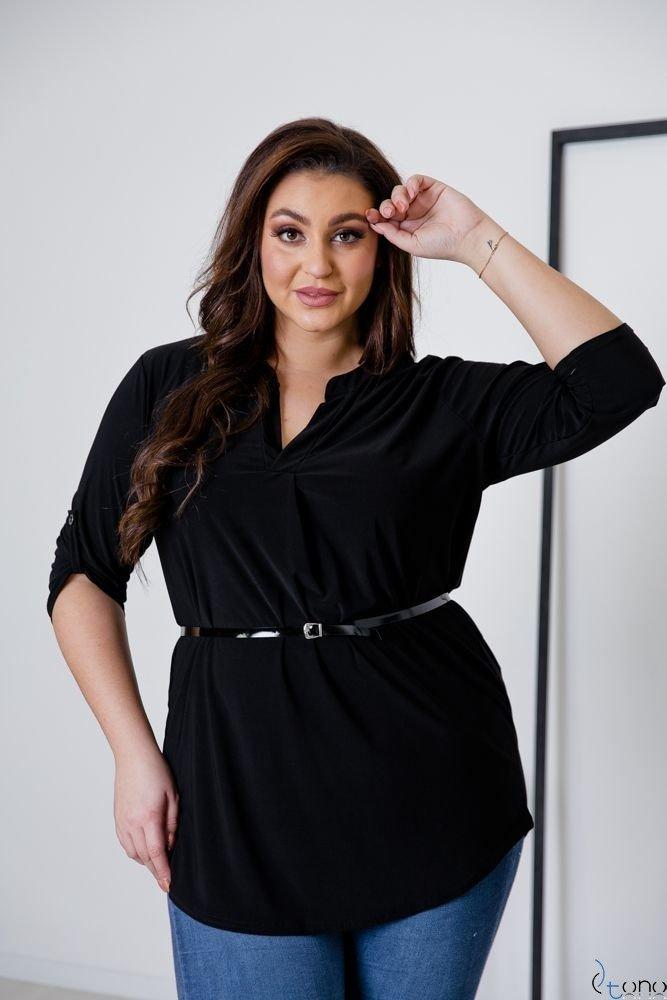 Czarna Tunika REGIA Plus Size