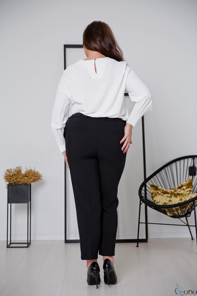 Czarne Spodnie ABURRO Plus Size