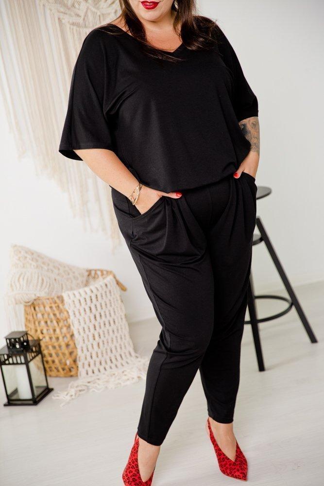 Czarny Komplet DETRA Plus Size