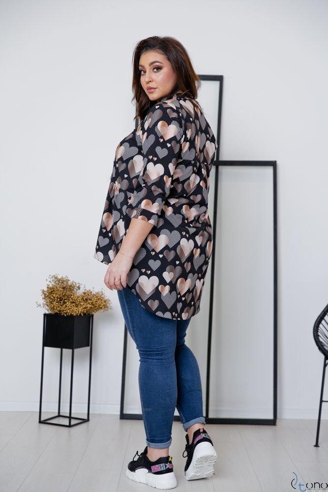 Koszula FARLA Plus Size Wzór 3