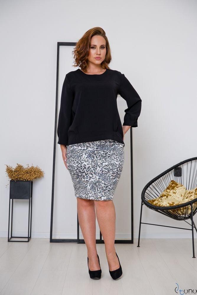 Spódnica DALIA Plus Size Panterka
