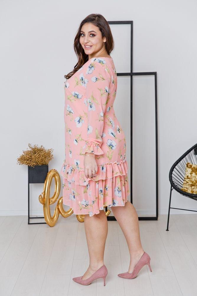 Sukienka ARIEL Plus Size Wzór 2