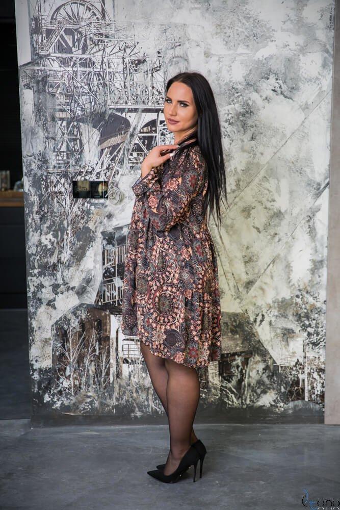 Sukienka BELEZZA Plus Size wzór 1
