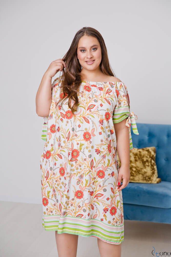 Sukienka BELTINA Plus Size Wzór 2