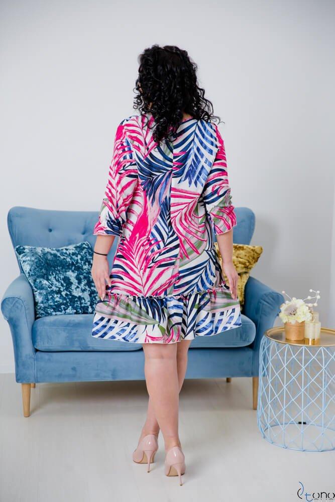 Sukienka CAPRI Plus Size Wzór 1