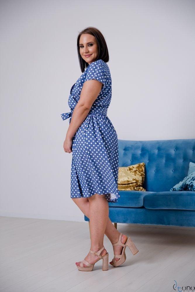 Sukienka CORTEZIA Plus Size Wzór 2