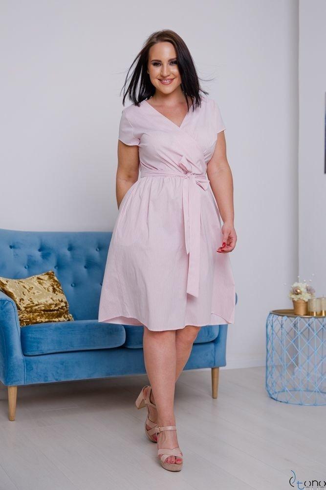 Sukienka CORTEZIA Plus Size Wzór 3