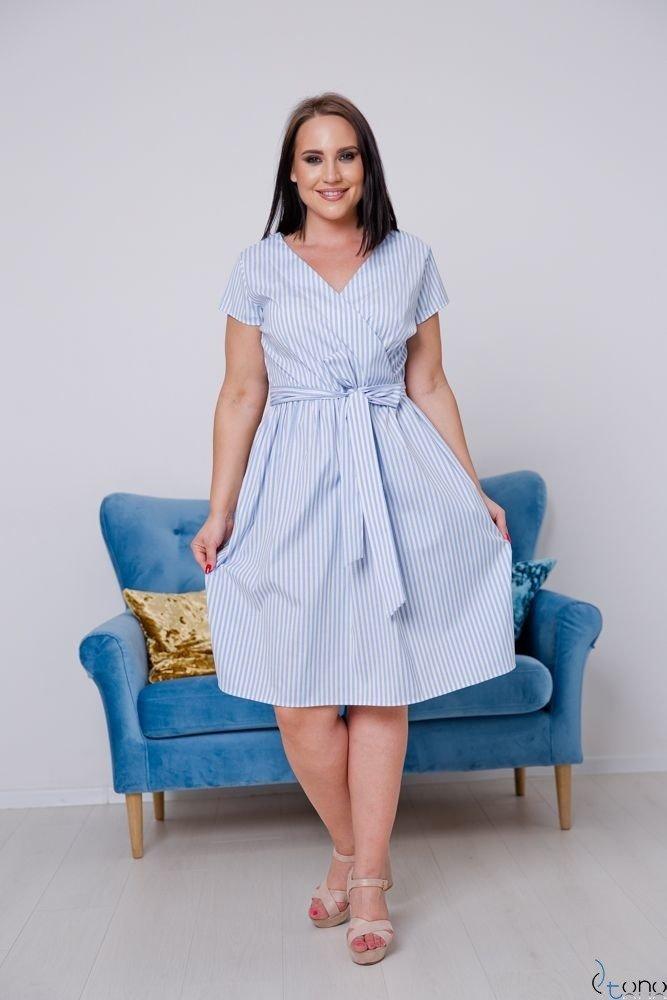 Sukienka CORTEZIA Plus Size Wzór 4