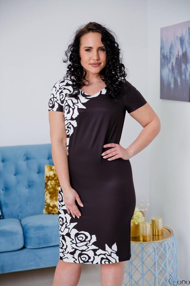 Sukienka CRISTINE Plus Size Wzór 3
