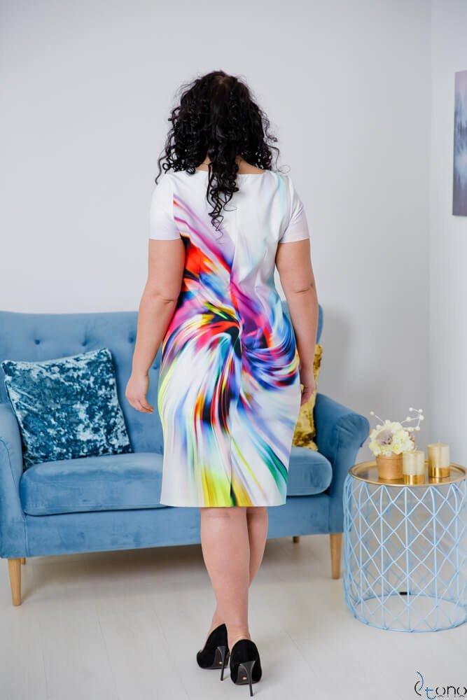 Sukienka CRISTINE Plus Size Wzór 6