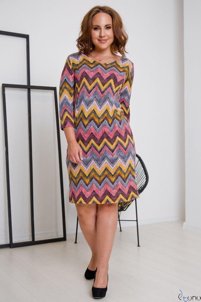 Sukienka DAFNY Plus Size Wzór 5