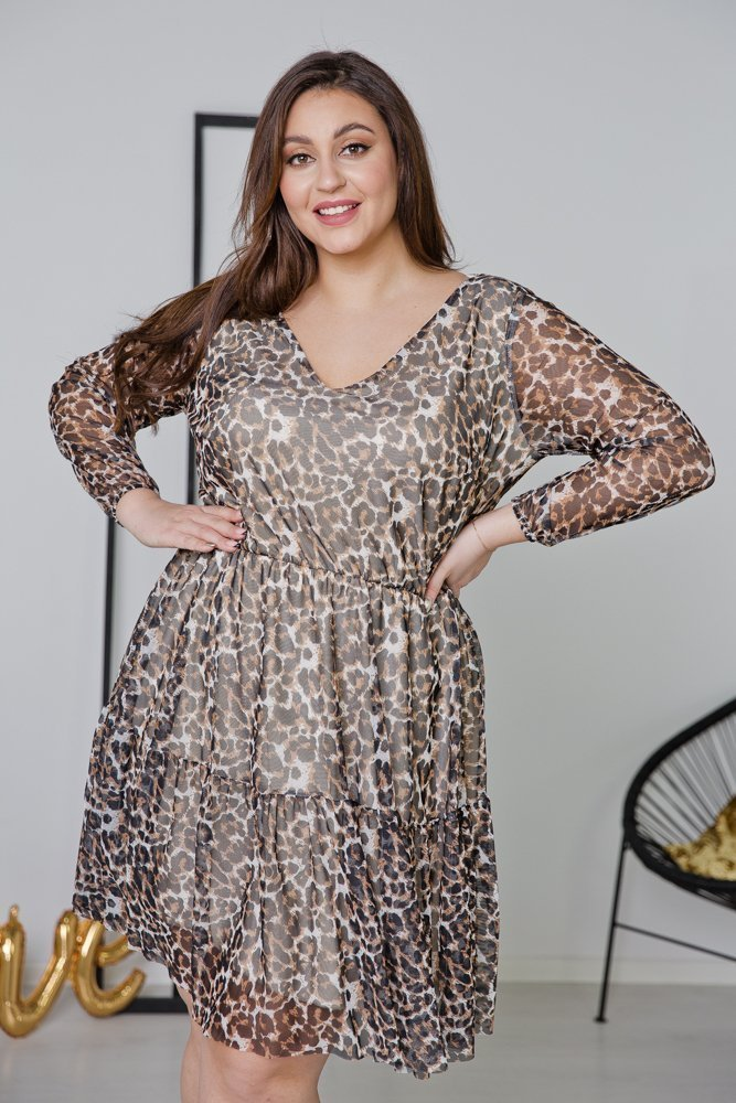 Sukienka ERIS Plus Size Wzór 1
