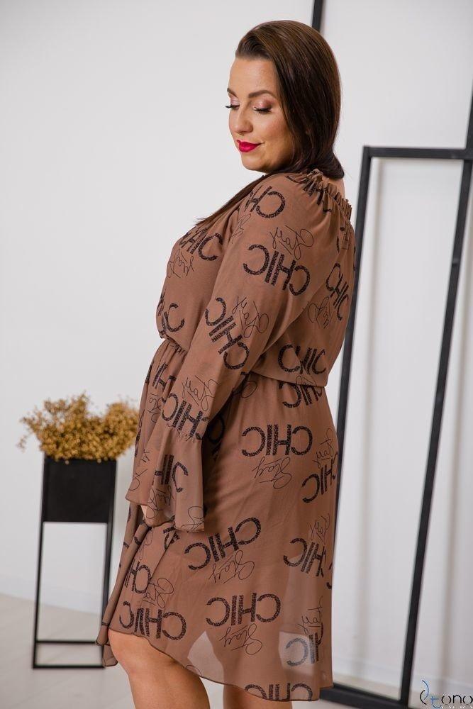 Sukienka ESTREMMA Plus Size Wzór 4