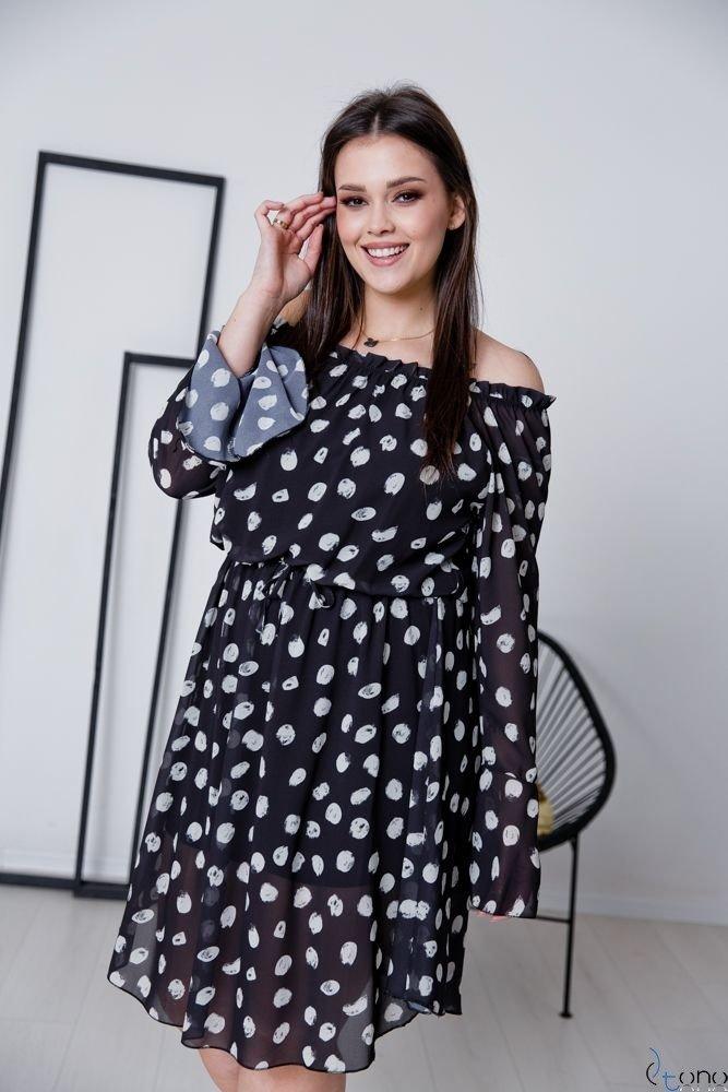 Sukienka EVITA Plus Size Wzór 4