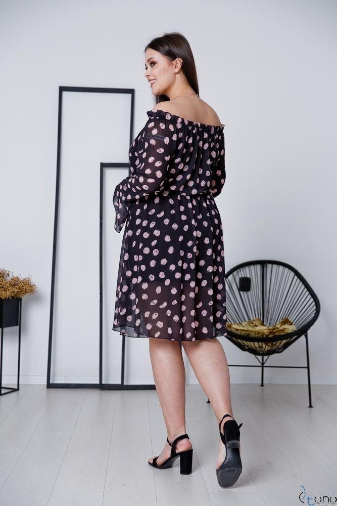 Sukienka EVITA Plus Size Wzór 5
