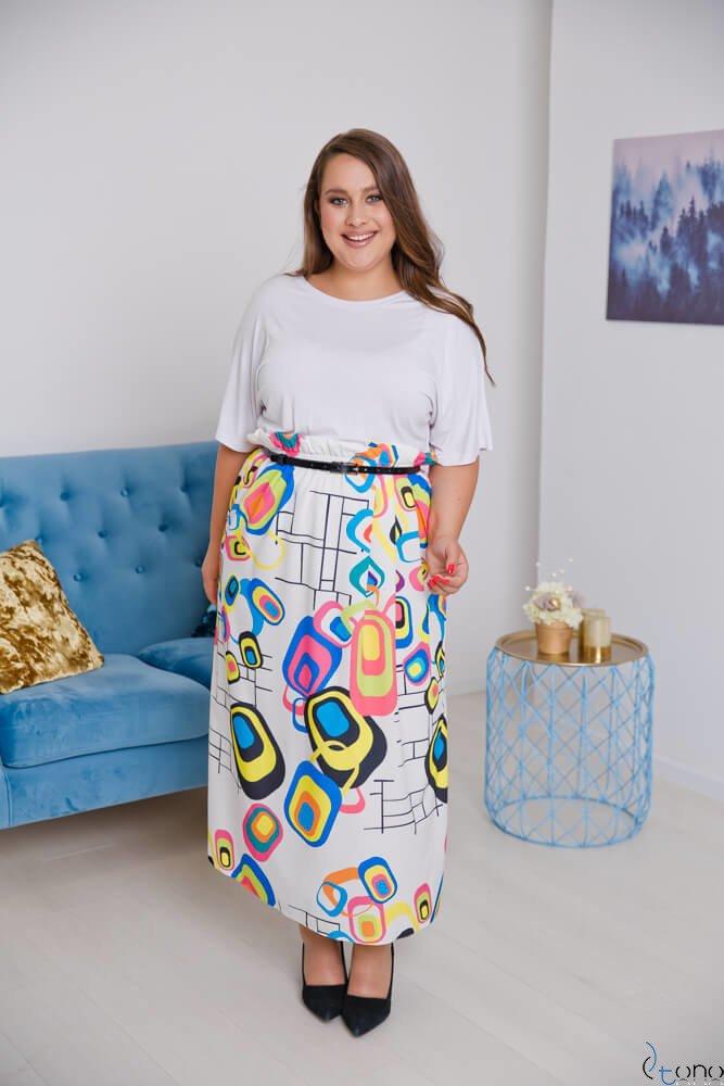 Sukienka FAVORITA Plus Size Wzór 1