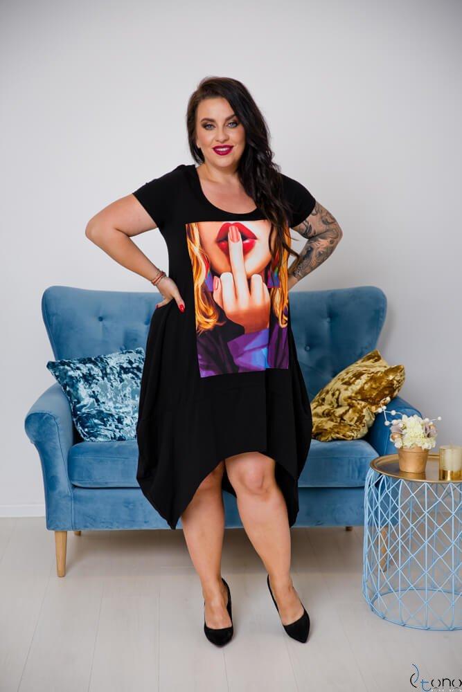 Sukienka FELICCIA Plus Size Wzór 4