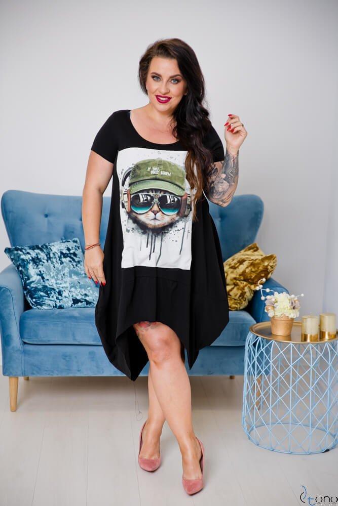 Sukienka FELICCIA Plus Size Wzór 6