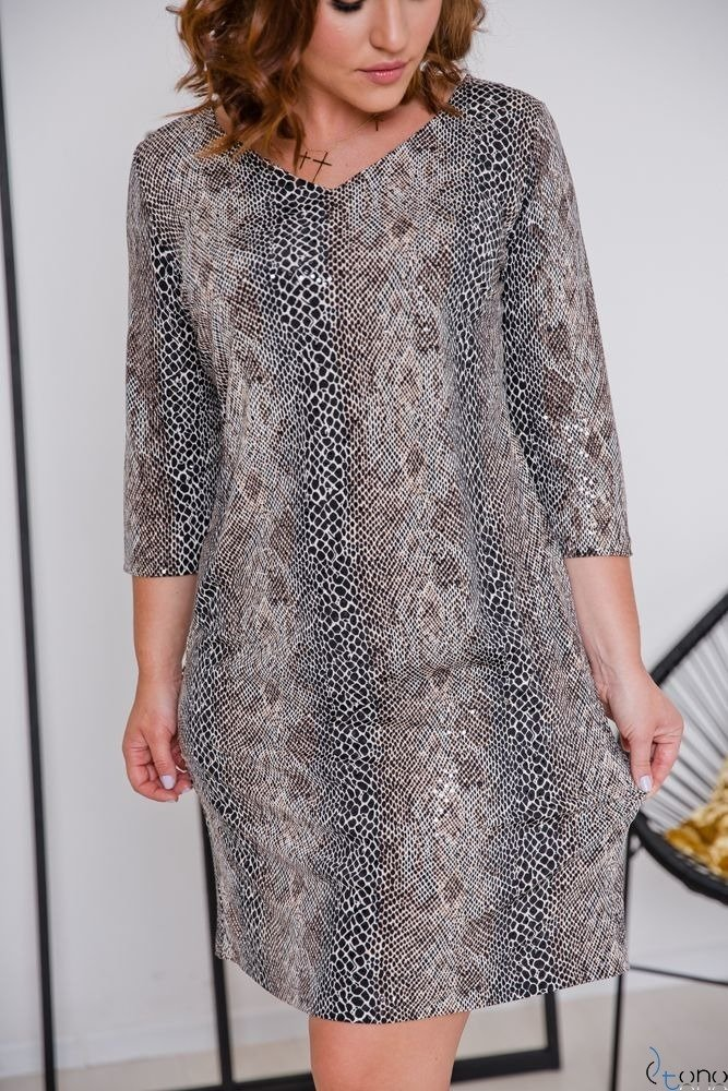 Sukienka KAMARIA Plus Size Wzór 2